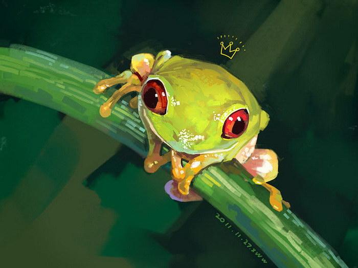 Невероятно милые рисунки Xue Wawa