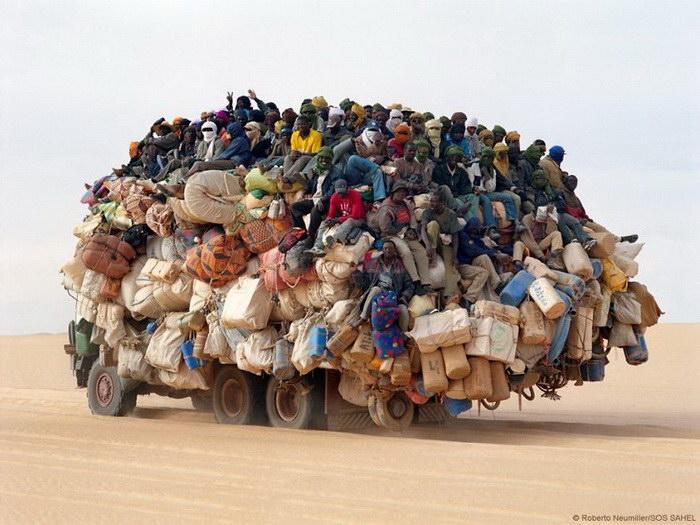 Самые загруженные транспортные средства на дорогах мира