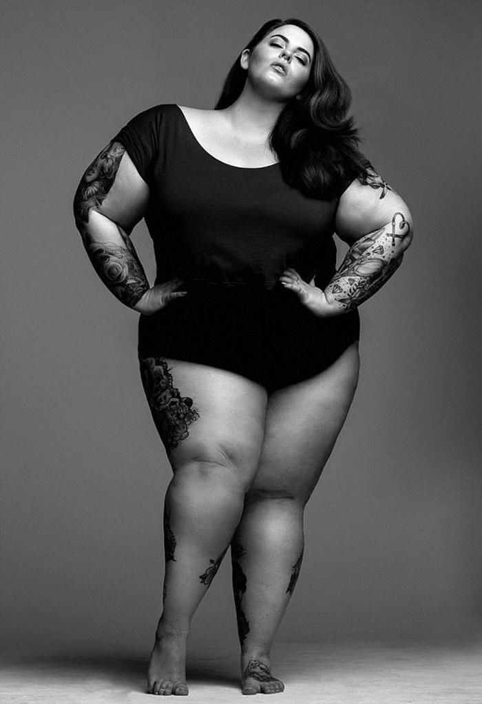 Полная модель Tess Holliday — новая звезда Великобритании