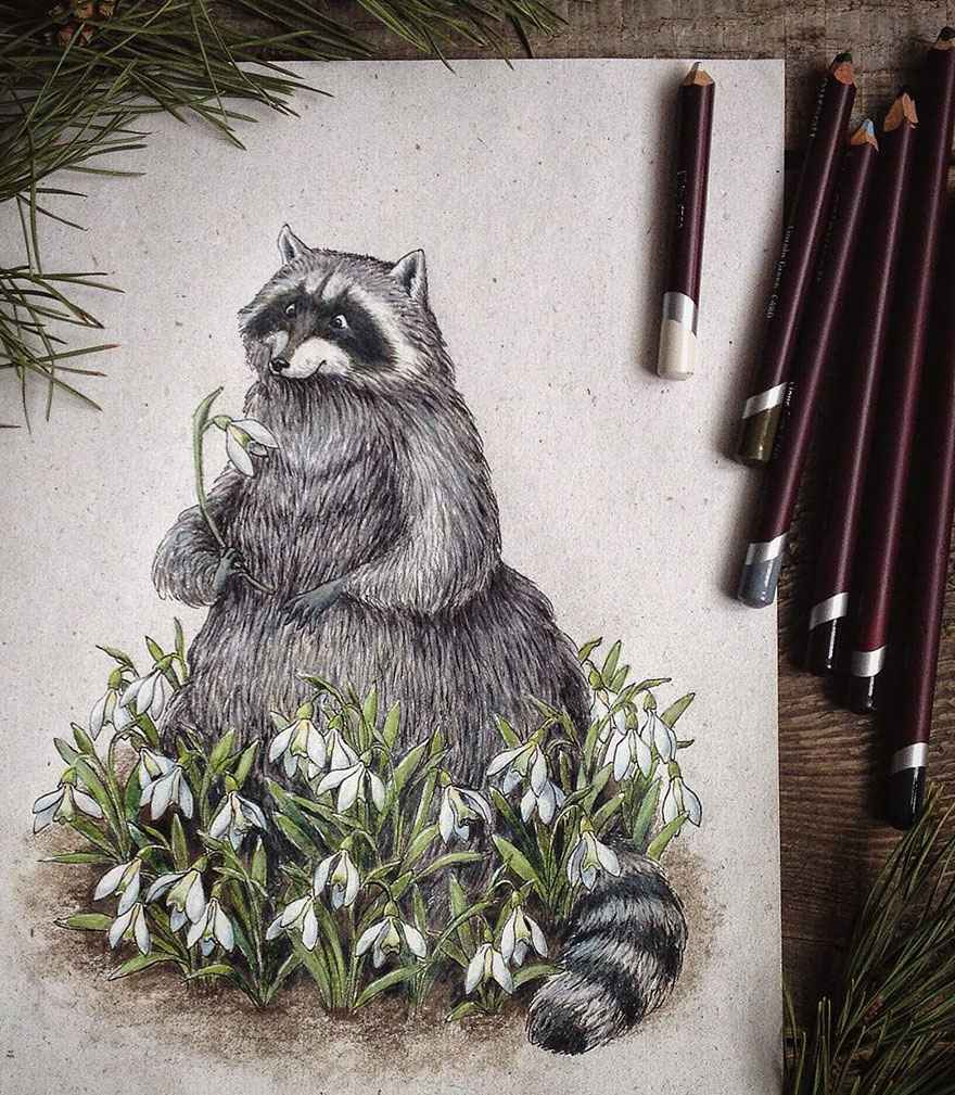 Красивые рисунки Lia Selina