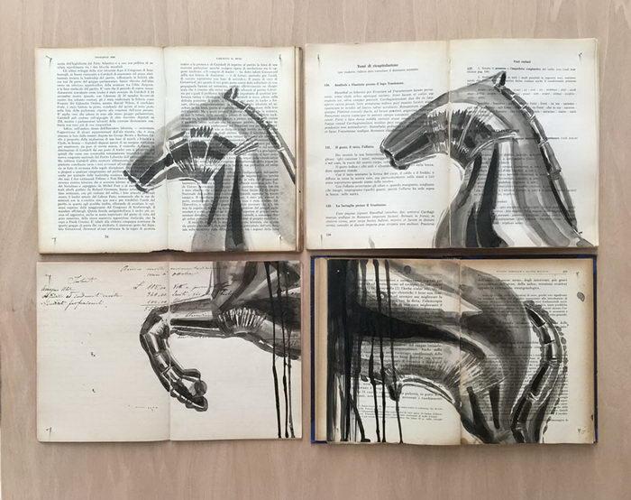 Роспись старых книг Ekaterina Panikanova