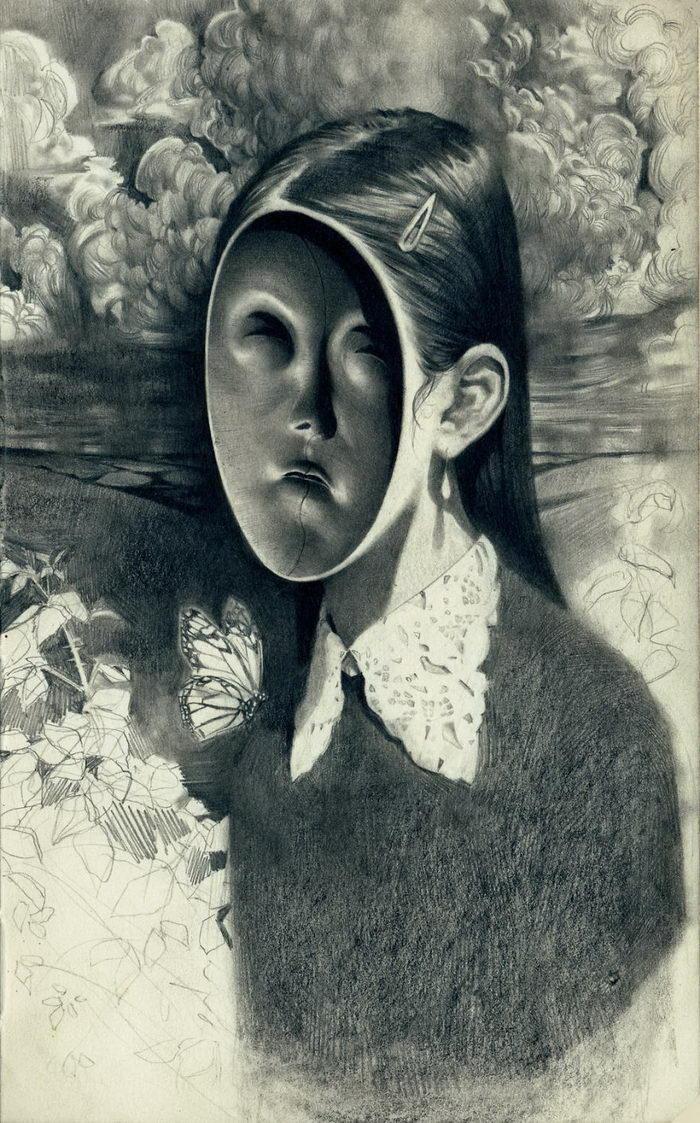 Карандашные иллюстрации Miles Johnston