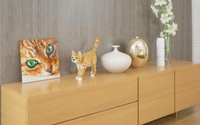 Lego-кошки: конструкторы в виде любимых питомцев