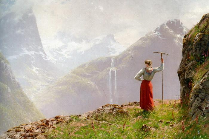 Картины Ханса Даля