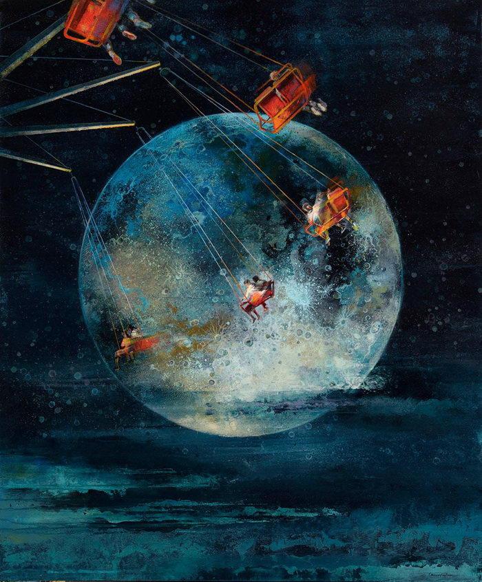 Магический реализм в картинах Eric Roux-Fountaine