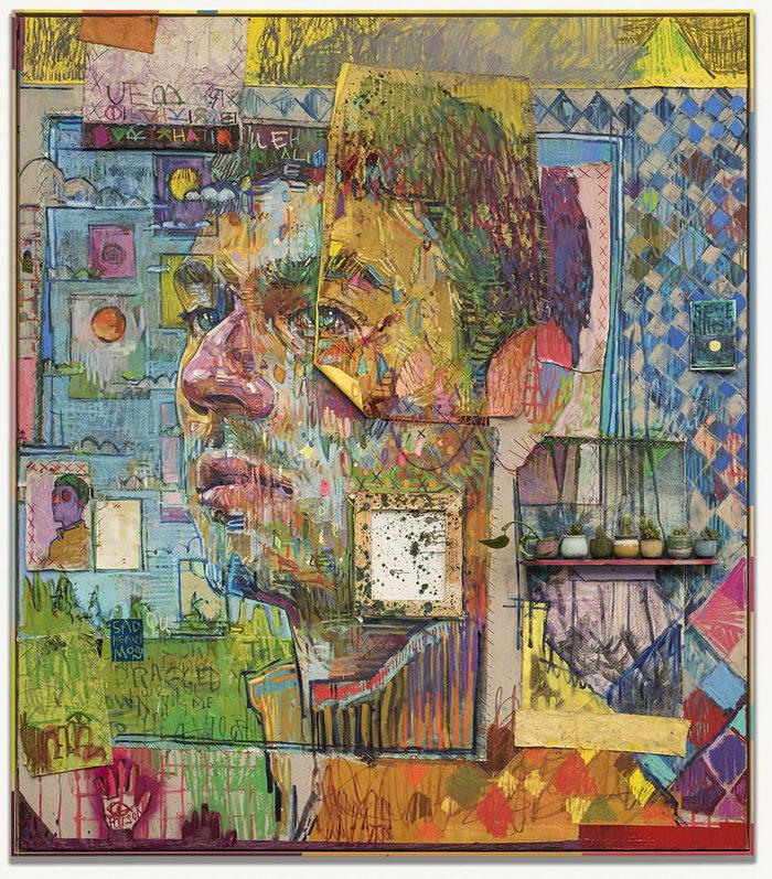 Огромные портреты людей Andrew Salgado