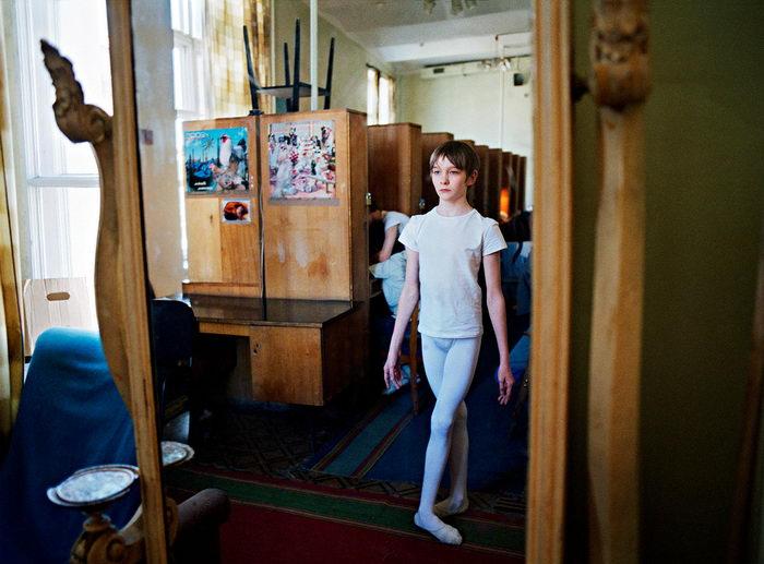 Ученики балетной школы в фотографиях Rachel Papo