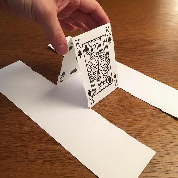Бумажные творения HuskMitNavn