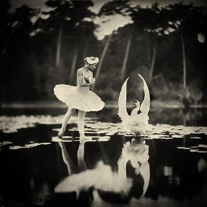 Старинные фотографии с современным смыслом Alex Timmermans