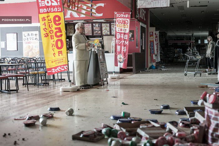 Фукусима после катастрофы: новые фотографии Arkadiusz Podniesinski