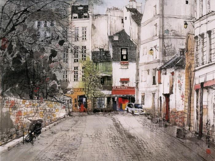 Пейзажи Liu Maoshan