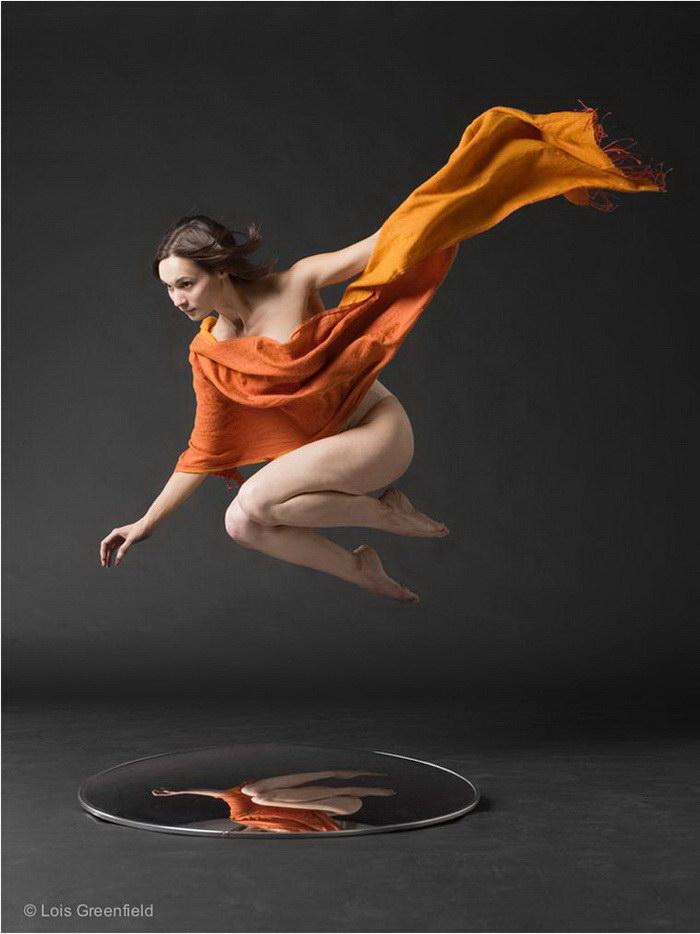 Танцоры в фотографиях Lois Greenfield