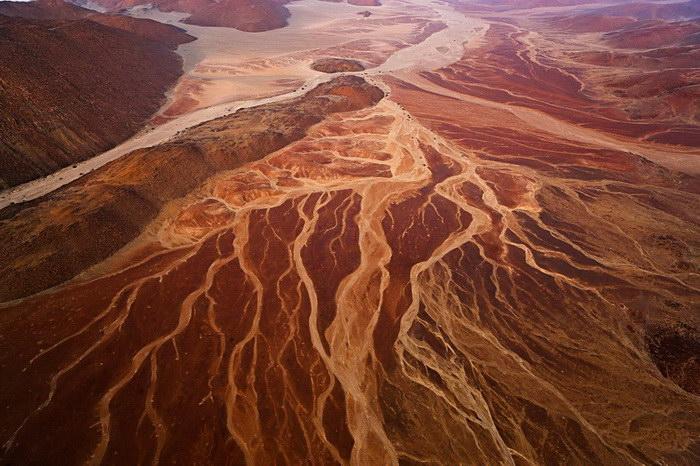 Намибия сверху: фотографии Theo Allofs