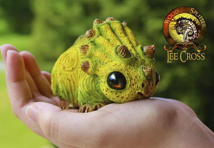 Невероятные игрушки ручной работы Lee Cross