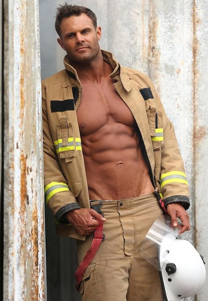 Календарь пожарников Австралии 2018 года