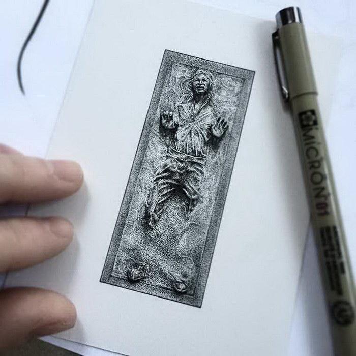 Черно-белые миниатюры Paul Jackson