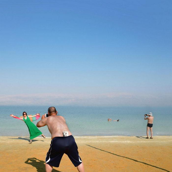 Мертвое море в снимках Александра Бронфера