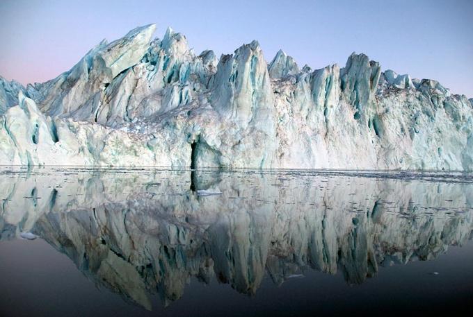 Загадочные фотографии айсбергов