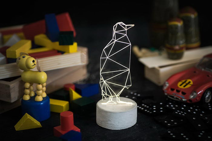 Геометричные лампы SturlesiDesign