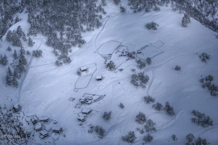 Фотографии Грузии с вертолета, сделанные Dito Tediashvili