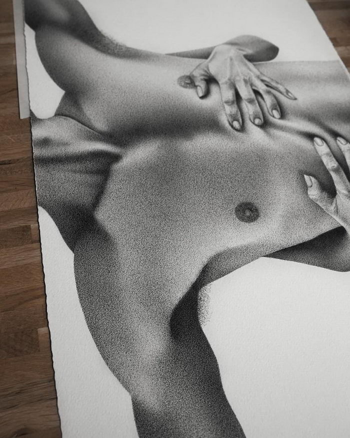 Удивительные рисунки ручкой Julia Koceva