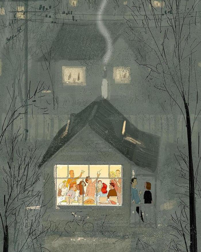 Радость каждого дня: иллюстрации Pascal Campion