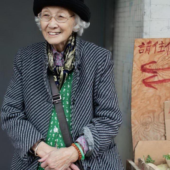 Мода пенсионеров Чайнатауна Сан-Франциско