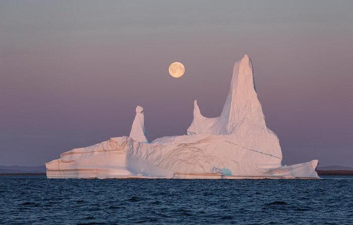 Льды Гренландии в фотографиях Erez Marom