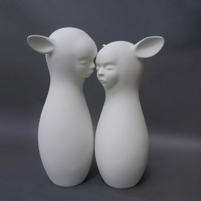 Необычные скульптуры Clementine Bal