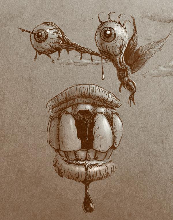Ретушь и иллюстрации Fabio Vido