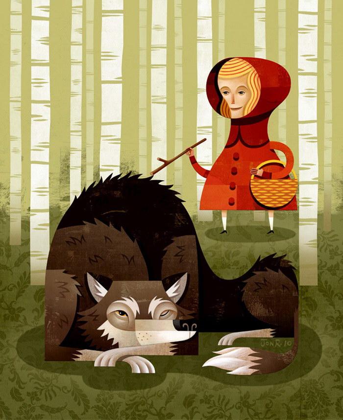 Красочные иллюстрации Jon Reinfurt