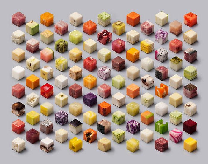 Сырая еда как искусство