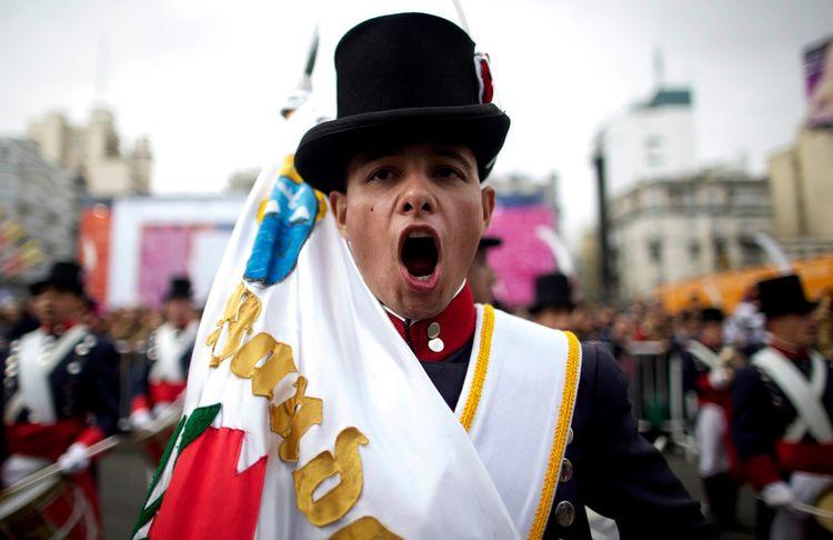 Годовщина Майской революции в Аргентине