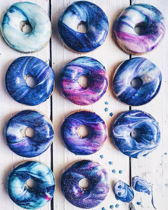 Галактические пончики: красота и невероятный вкус