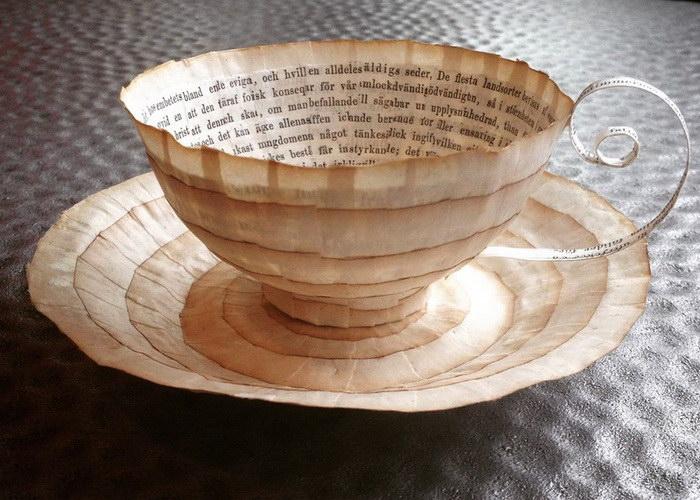 Посуда из бумаги Cecilia Levy