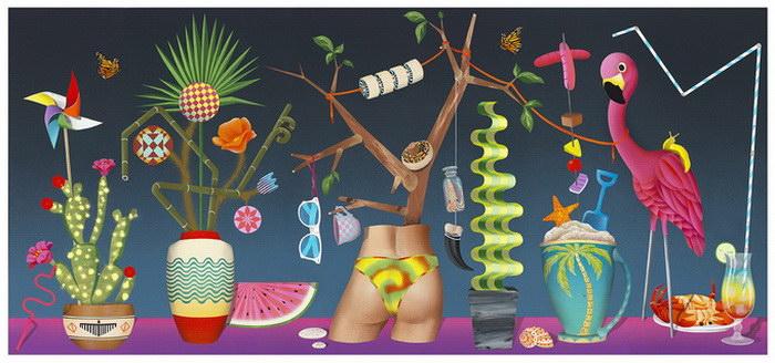 Яркие иллюстрации Casey Gray