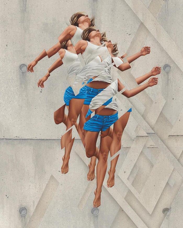 Фрагментарные картины James Bullough