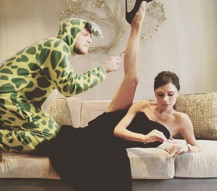 Мужчина в пижаме на снимках знаменитостей: проект Lorenz Valentino