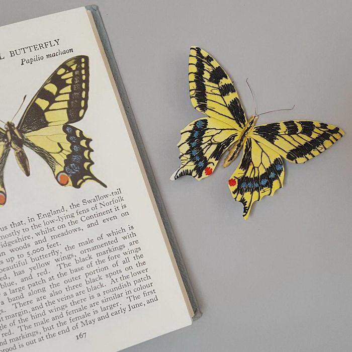 Бумажные насекомые Kate Kato
