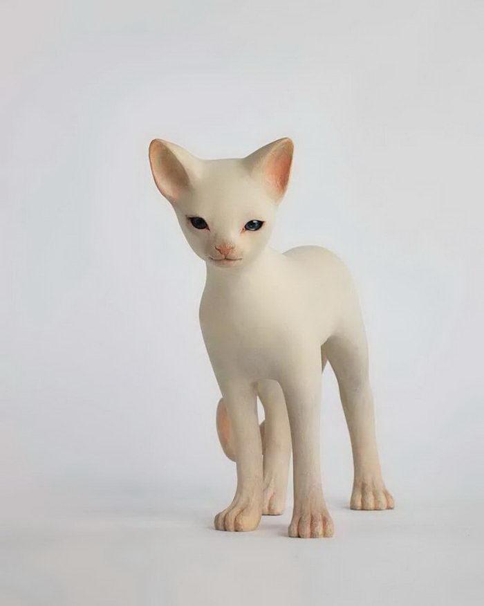 Белые скульптуры Yoshimasa Tsuchiya