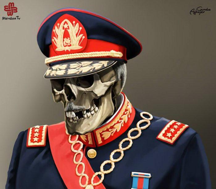 Самые известные правители в иллюстрациях Gunduz Agayev