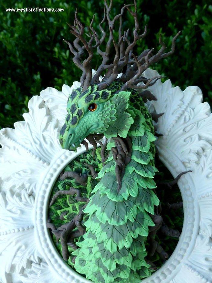Творения из полимерной глины Caralyn Edwards-Tucker