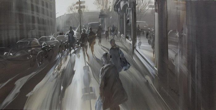 Суета большого города: картины Kerdalo