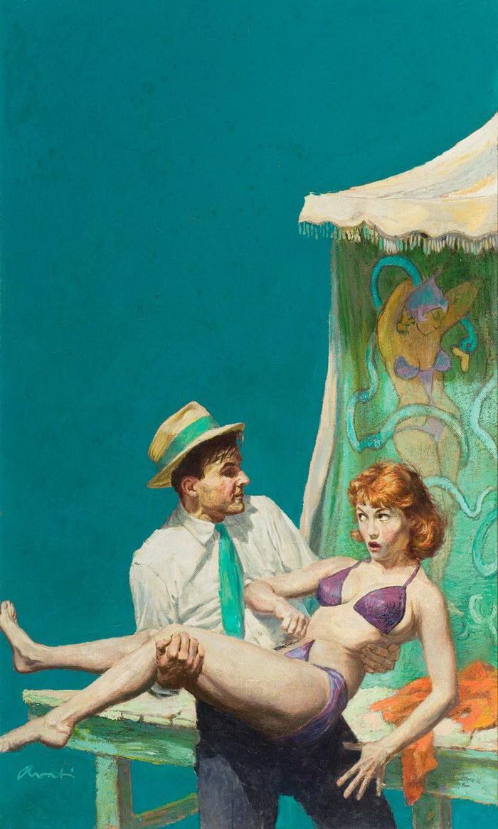 Король книжных обложек: картины James Avati