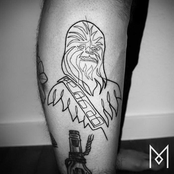 Стильные татуировки Mo Ganji