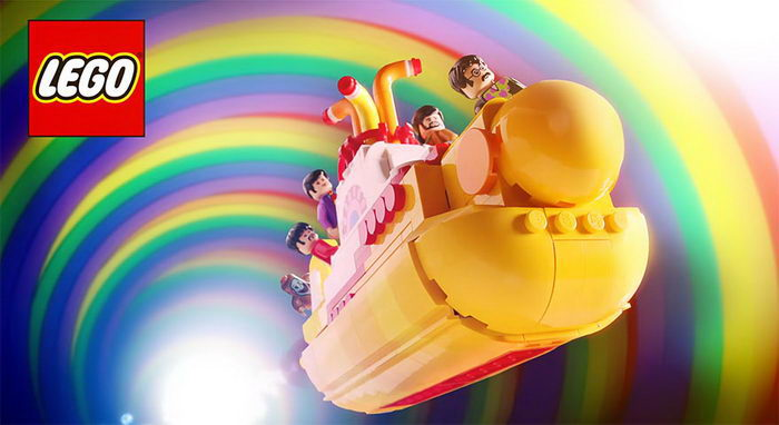 Lego Yellow Submarine: новый конструктор для битломанов