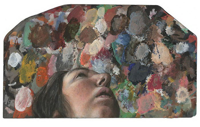 Картины на палитрах: собрание Dina Brodsky