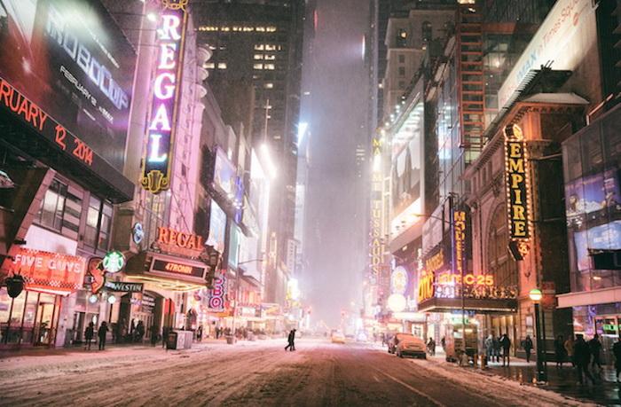 Нью-Йорк в фотографиях Vivienne Gucwa