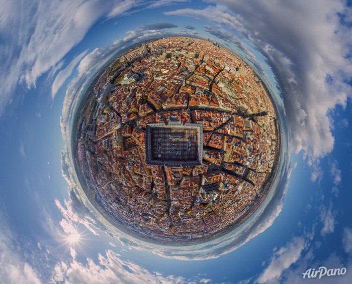 Сферические панорамы, созданные сервисом AirPano