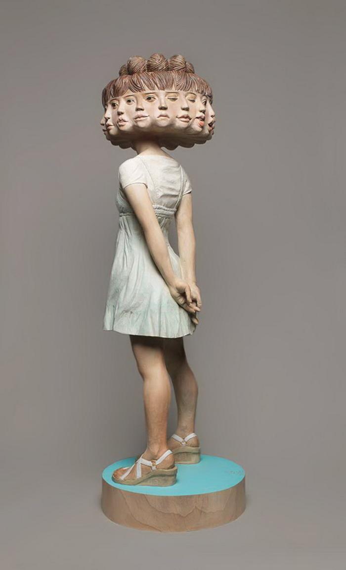 Необычные скульптуры Yoshitoshi Kanemaki